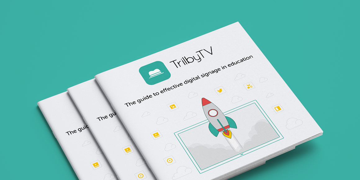 TrilbyTV - The guide to effective digital signage in education